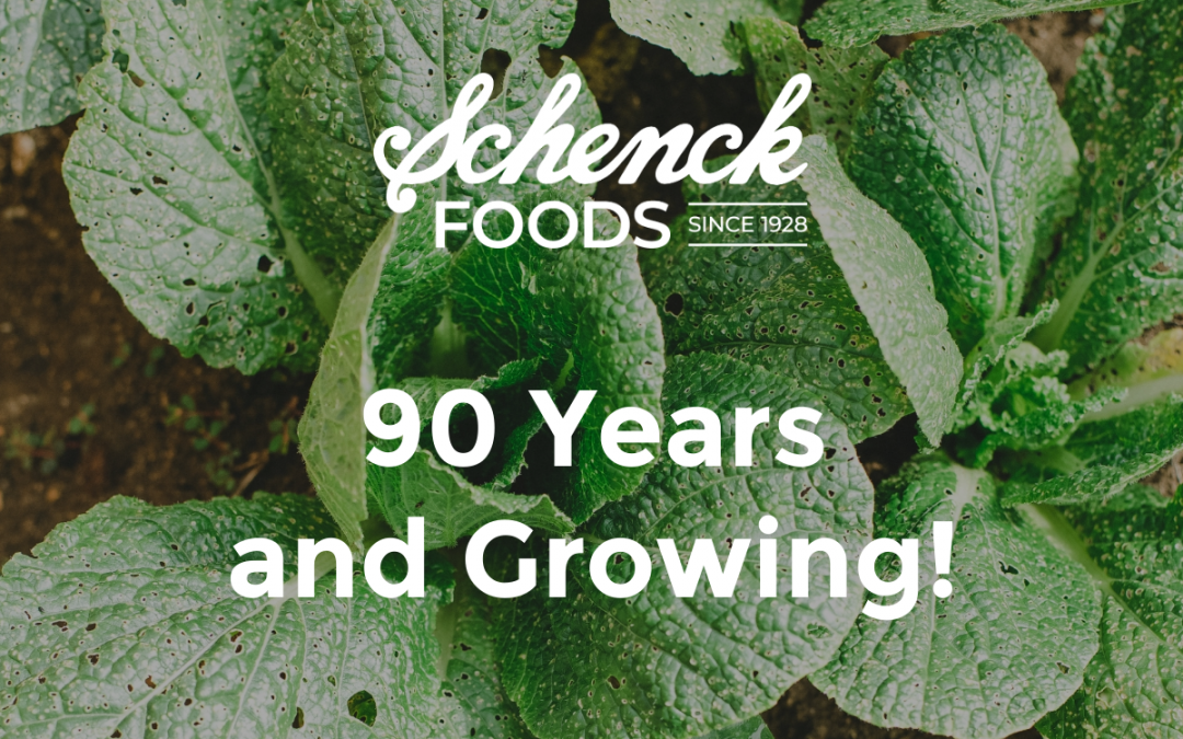 Schenck Foods – 90 Years and Growing